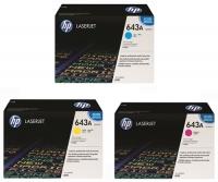تونر کارتریج رنگی HP 643A